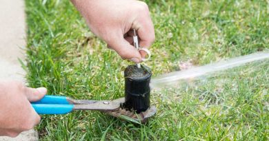 Damaged Sprinkler Systems Can be Costly